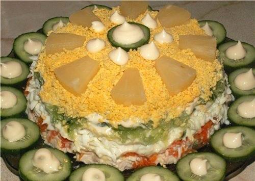 salat-s-kuricej-ananasom-ogurcom-oblachko-2