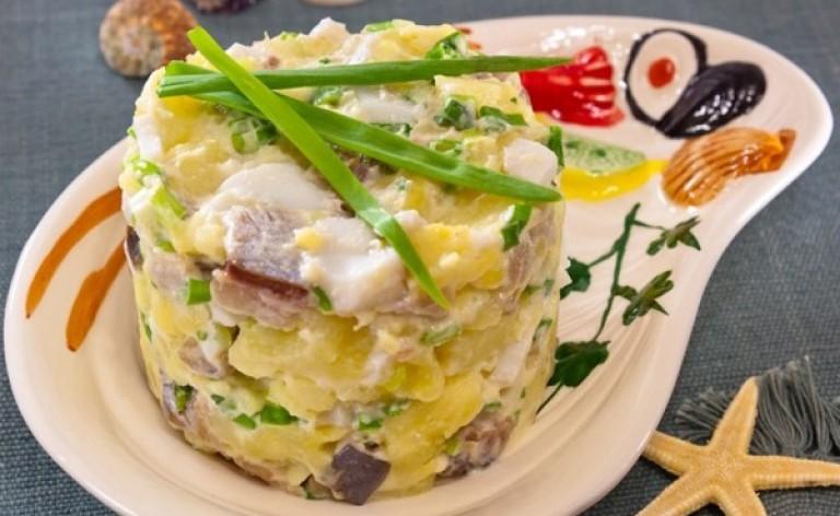 Рецепты салатов с картошкой